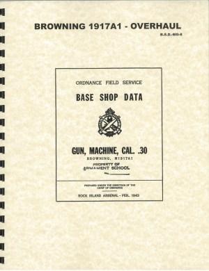 1917A1 Overhaul manual
