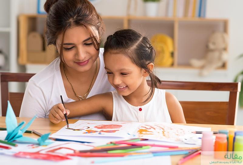 طريقة تعليم الألوان للطفل المولود