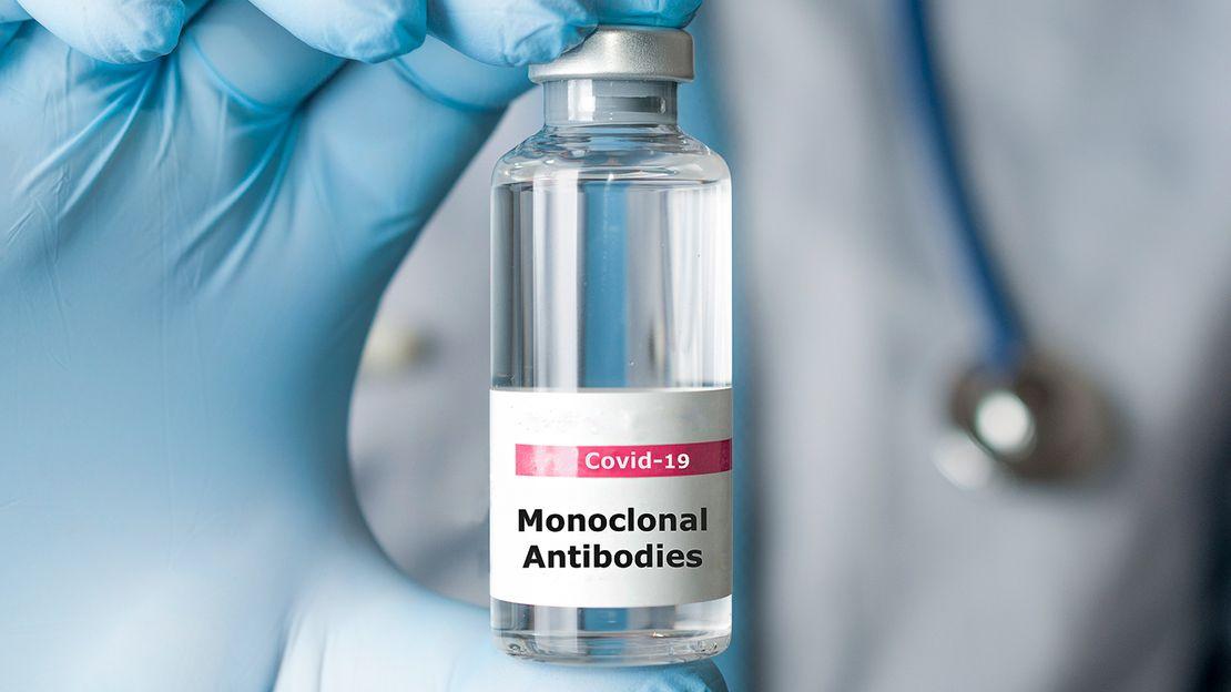 علاجات الأجسام المضادة أحادية النسيلة لـcovid-19