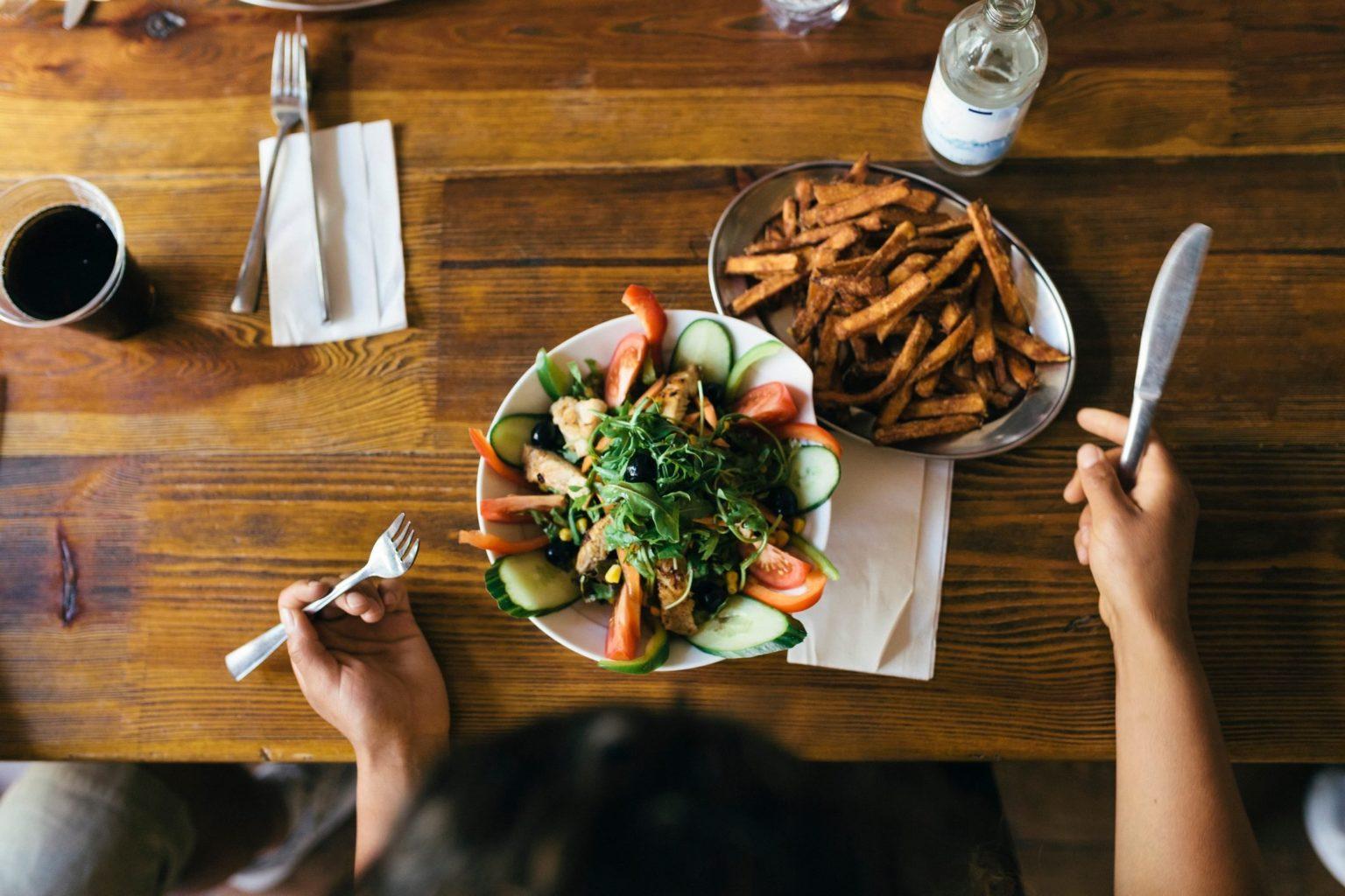 الاتجاه العكسي للنظام الغذائي