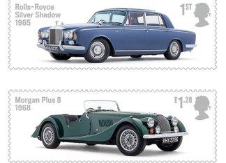 British Auto Legends stamps 2013