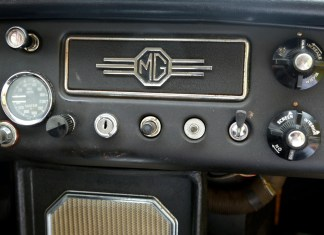 Army surplus switches on the MGB GT dash