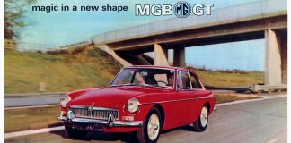 For the man with the Octagon Spirit... magic in a new shape MGB GT