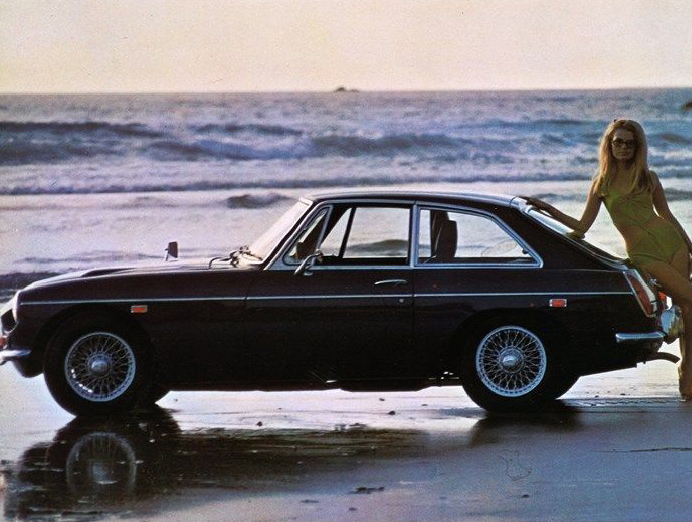 1969 MG MGC GT USA publicity photo
