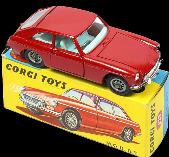 Gorgi MGB GT 1950's 1:43 model