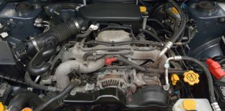 2007 Subaru Forester engine bay nightmare