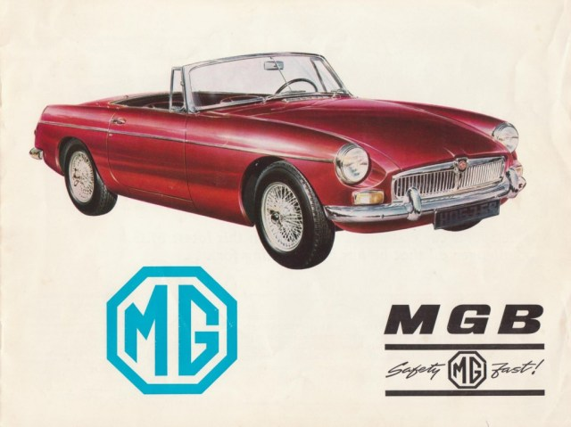 1967 MG MGB Roadster brochure