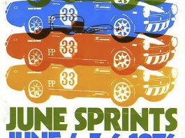 Road America June Sprints 1976 program