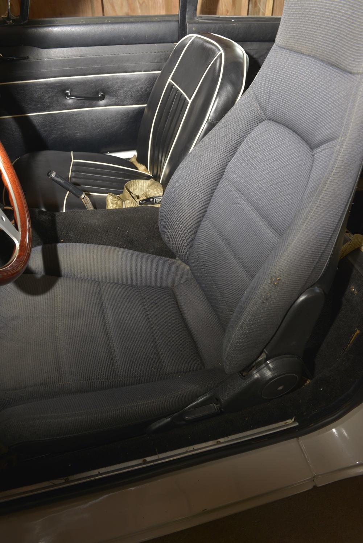The original 1967 MGB GT seats