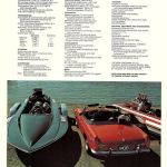 Specifications MG MGB Roadster brochure