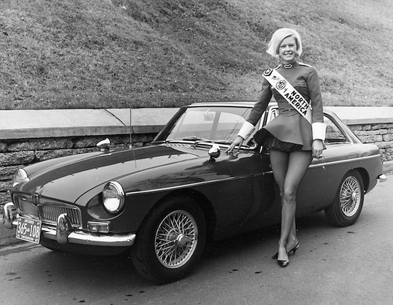 Miss MG North America MGA | 1967 MGB GT