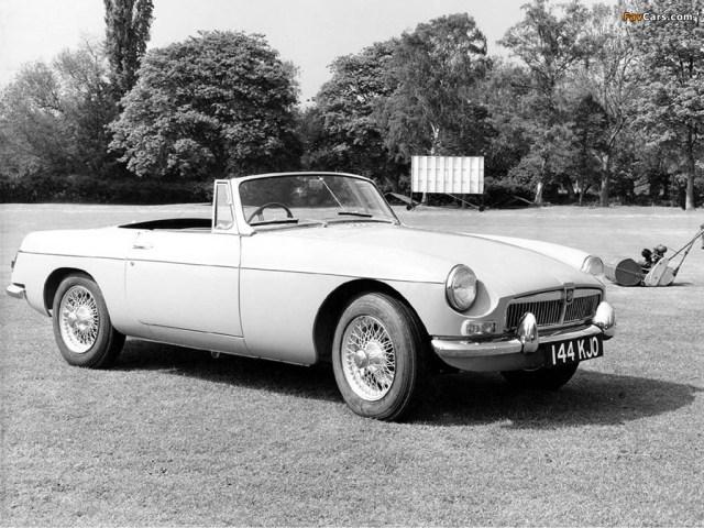 1962 MG MGB promo photo