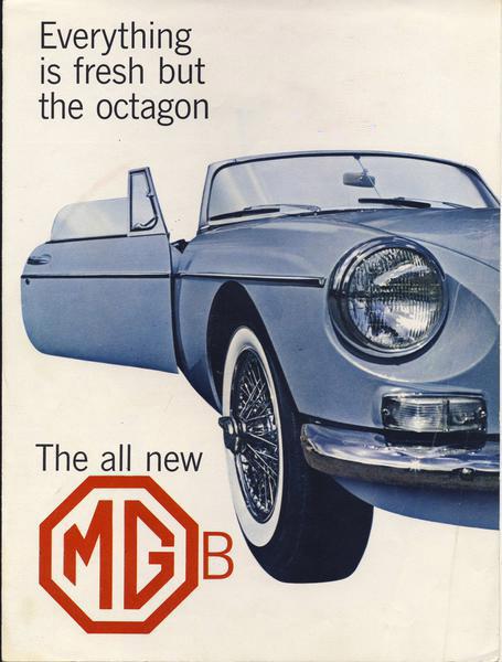 1962 MGB Brochure - Page 1