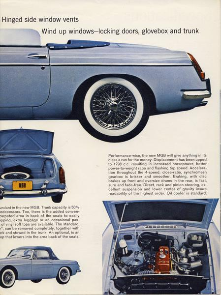 1962 MGB Brochure - Page 3