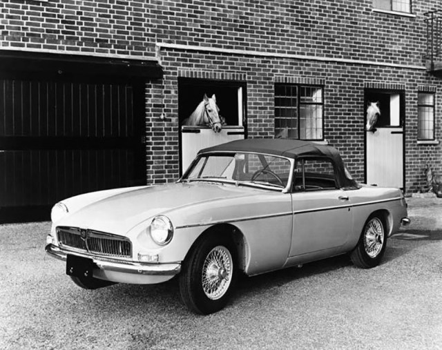 1965 MG MGB Roadster Factory Photo