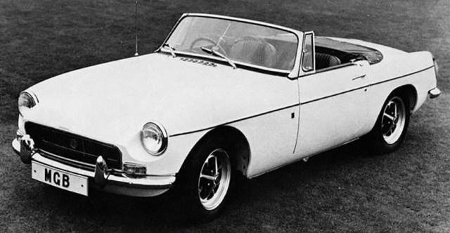1970 MG MGB Roadster Factory Photograph