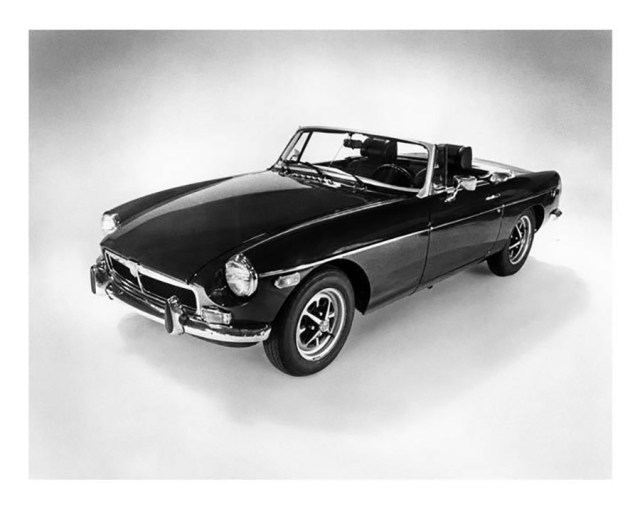 1973 MG MGB Convertible Factory Photograph