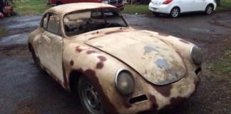 Porsche 356C basketcase