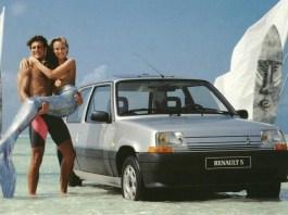 Renault 5 Mermaid Girl