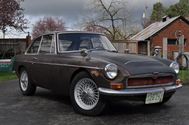 1968 MGC GT Project