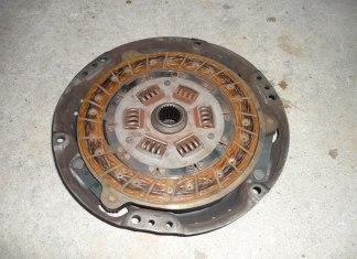 MGB clutch disc and pressure plate
