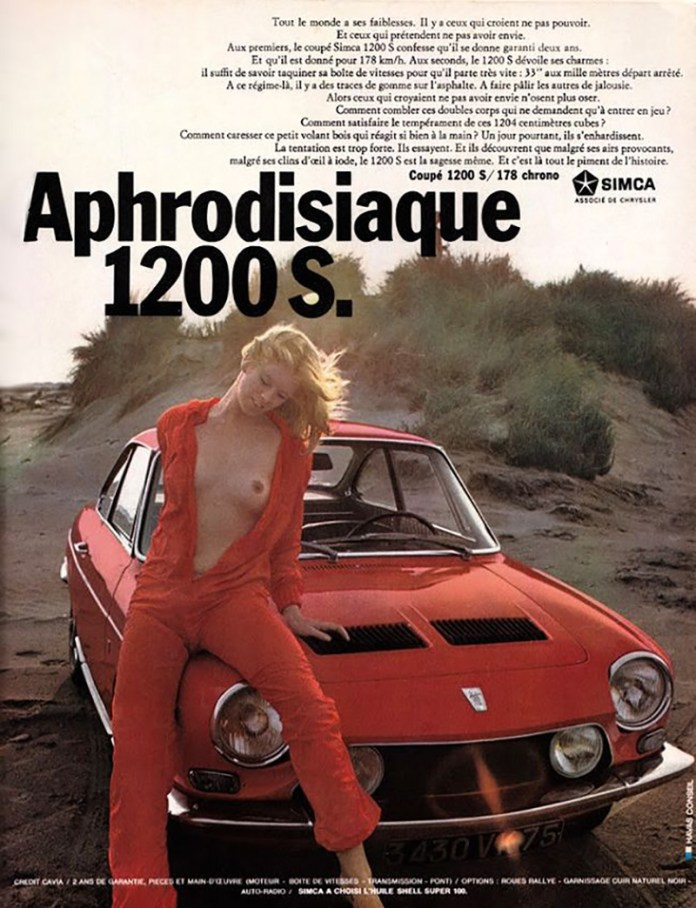 Simca 1200 S Aphrodisiaque Chick