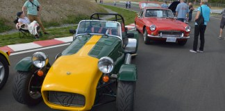 1963 Caterham 7 and 1967 MGB GT