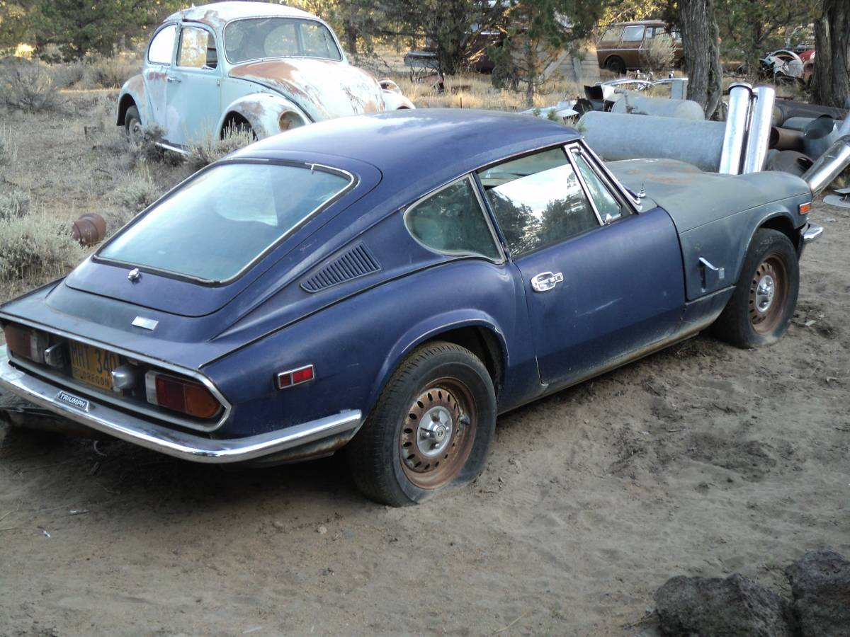 Ratty rat infested Triumph GT-6 for sale on Craigslist