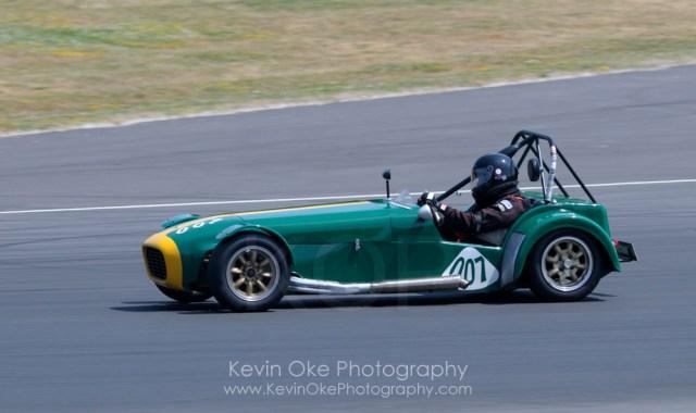Lotus 7 number 007