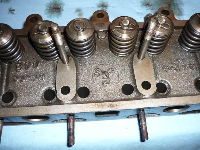 1967 MGB 12H1326 cylinder head