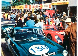 MGB GT at the Targa Floria 1968