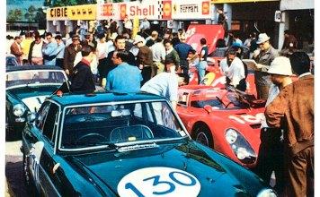 MGB GT at the Targa Floria 1968