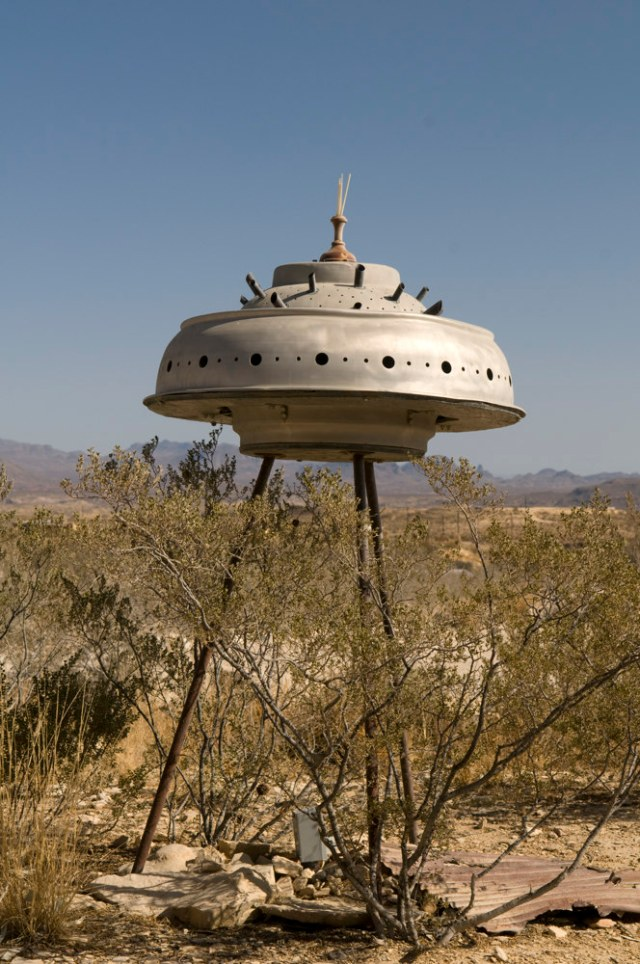 Deep in the southern reaches of Texas, a real UFO