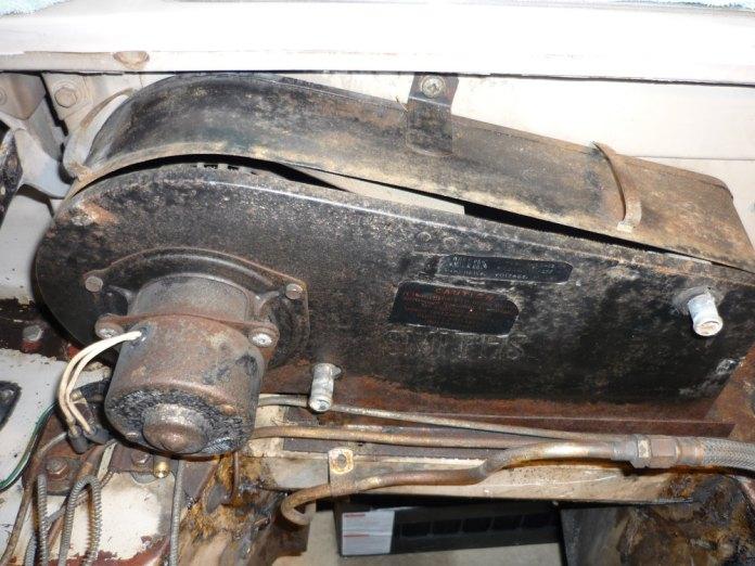1967 MGB GT heater box