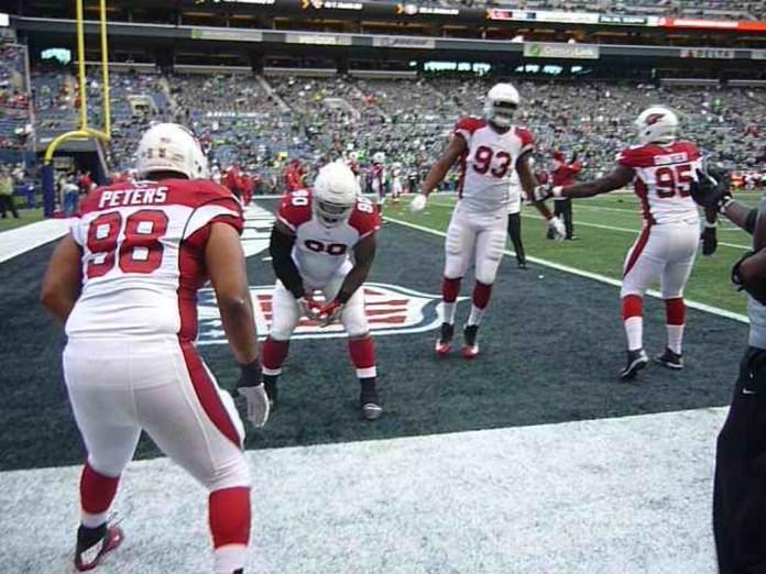 Arizona Cardinals kicked Seattle butt