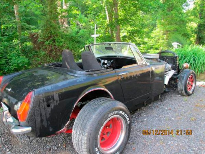 Craigslist MGB rat rod
