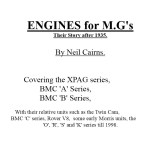 Engines for MG's, Their story after 1935