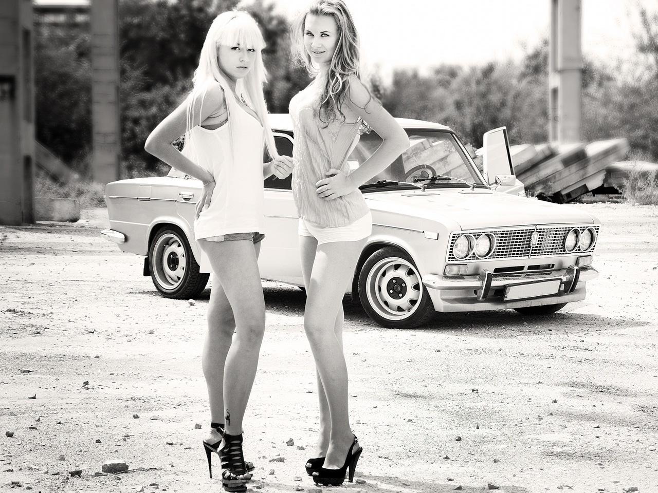 Pretty Lada Samara girls