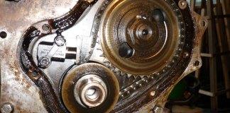 MGB 18V engine single row timing chain