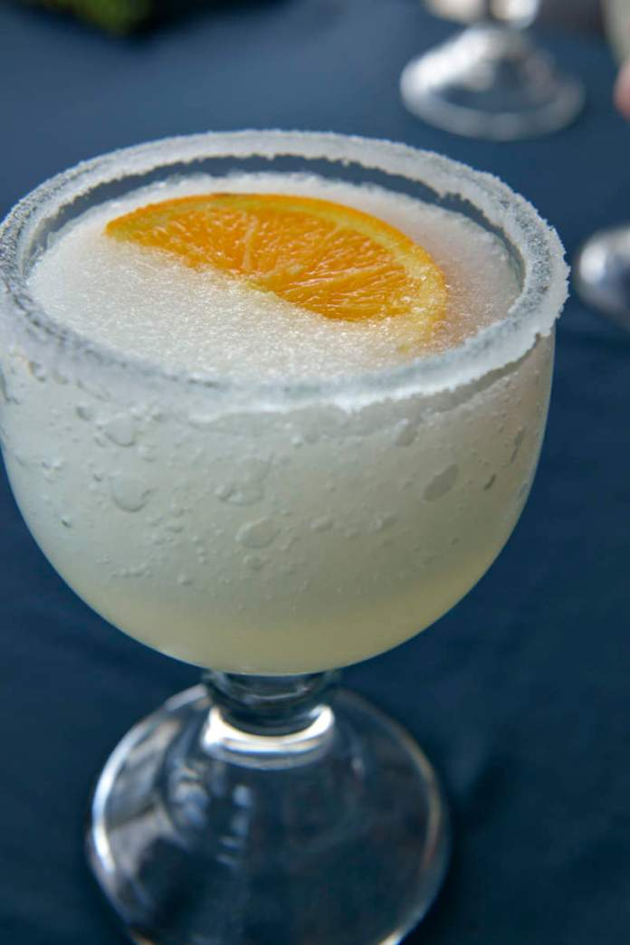 Nice cool margarita