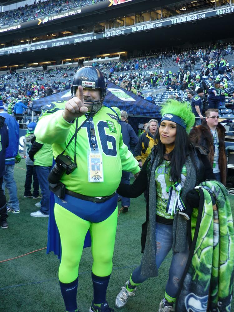 13a5947c08b Seattle Seahawks super fan