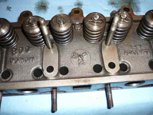 MGB 12H 1326 cylinder head date stamp