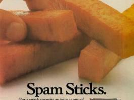 Spam Sticks - As much fun as fish fingers