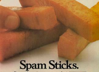 Spam Sticks - As much fun as fish fingers