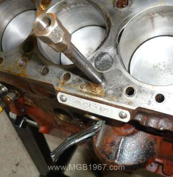 Stuck MGB Cylinder Head Bolt