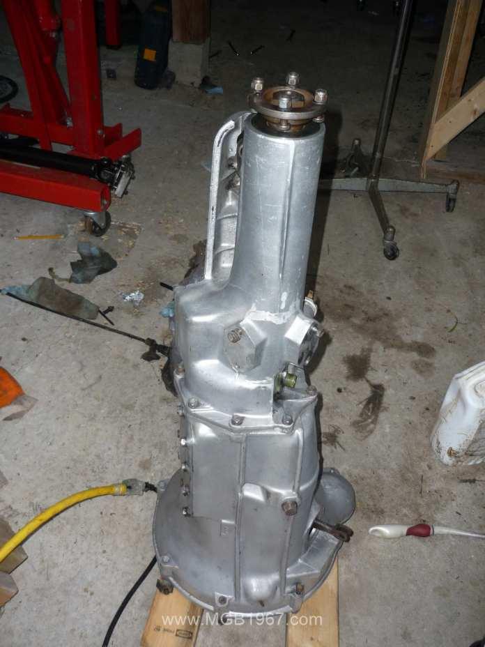 MGB GT 4-synchro gearbox