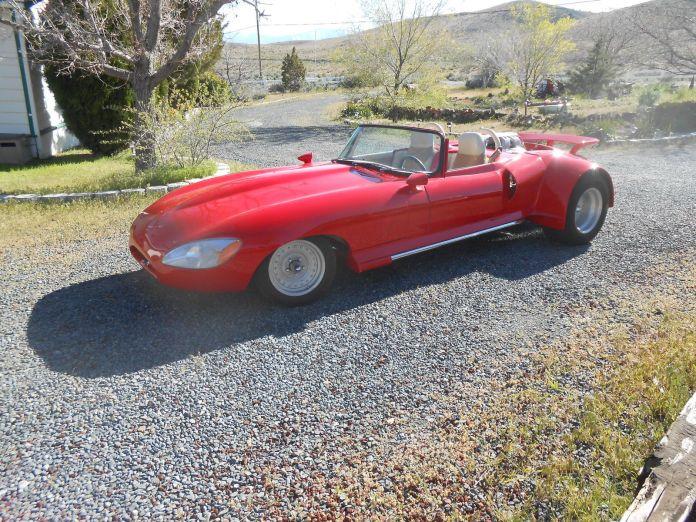 WTF 1968 Jaguar E-type custom