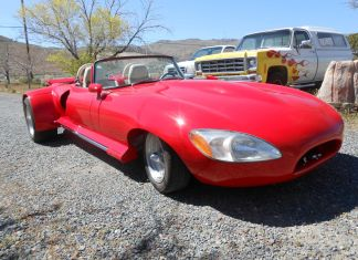 WTF 1968 Jaguar E-Type