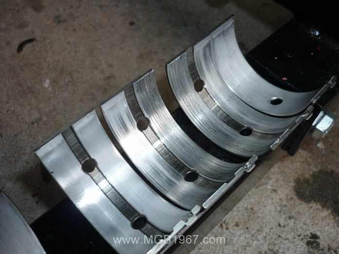 MGB 18V crappy main bearings