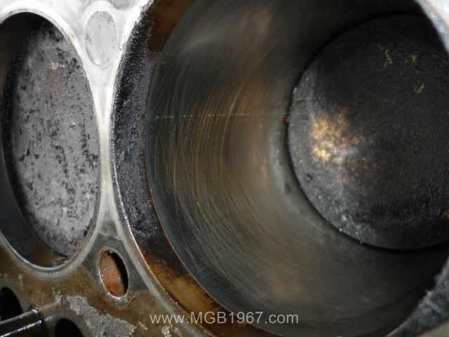 MGB 18V engine cylinder bores